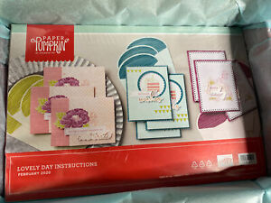 "Paper Pumpkin ""Lovely Day"" February 2020 Kit- NEW Stampin up"