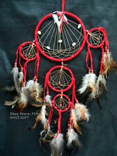 5x Wholesale LOT Long Big Handmade Wall Hanging Feather Dream Catcher Ornament a