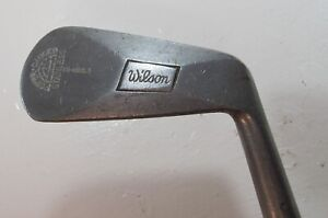 ANTIQUE WILSON POWER GAUGED STAINLESS Three Iron 3 Golf Club