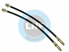 57 58 59 CHEVY 3200 PICKUP TRUCK 1/2ton LWB BRAKE HOSE FRONT PAIR 1957 1958 1959