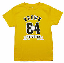 Fan Apparel & Souvenirs Beautiful Nwt Nfl Kids Pittsburgh Steelers Football Fan Yellow Football T-shirt *m-l Clothing, Shoes & Accessories