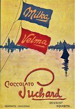 PUB.1914 CIOCCOLATO SUCHARD MILKA VELMA LAGO TRAMONTO CHOCOLATE SCHOKOLADE