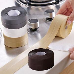 Wall Self-Adhesive Sink Caulk Strip Sealing Tape for Kitchen Bathroom Waterproof