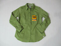 NEW 5.11 Tactical Series Button Up Shirt Womens Small Green Long Sleeve Ladies
