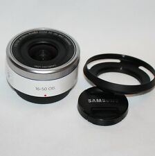 Samsung NX 16-50 mm F3.5-5.6 Power Zoom ED OIS Lens NX Mount (Blanc)