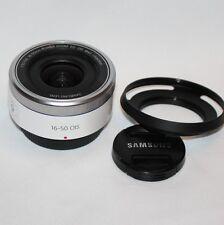 Samsung NX 16-50mm F3.5-5.6 Power Zoom ED OIS Lens Nx Mount (White)