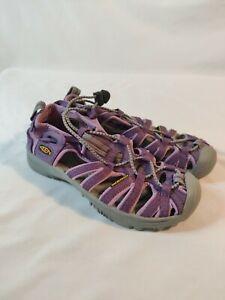 Keen Youth Shoe Whisper Size 2 Purple/Pink Closed Toe Sport Sandal NEW Waterproo