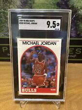 1989-90 NBA Hoops #200 Michael Jordan Chicago Bulls HOF SGC 9.5 MINT+ 💨🔥📈
