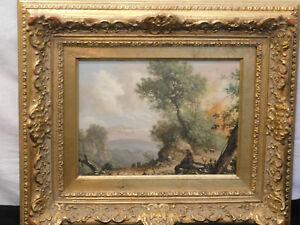 Richard Peterson American Listed Artist Original Oil Landscape