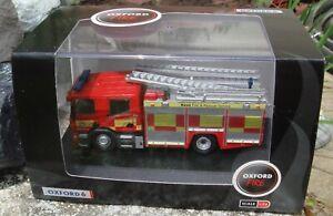 Oxford 1/76 scale Scania CP28 Pump Ladder - Kent Fire & Rescue Service 76SFE009