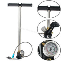 PCP Airgun High Pressure Hand Pump 310bar 4500psi for Air Rifle with Accessories