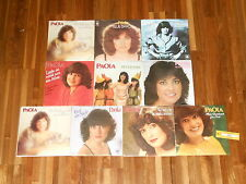 "Paola - SAMMLUNG - 10 Singles (7"") - Blue Bayou - Peter Pan - Rosafarben"