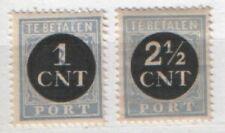NVPH P61-62 Port Portzegel 1923 Postfris