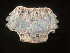 OOAK Sissy Adult baby Xmass print waterproof Diaper cover