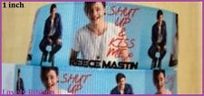 2 metre, REECE MASTIN, Aussie, 25mm, X Factor Singer, Grosgrain, 1 inch, Ribbon,