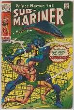 L0348: Namor the Sub-Mariner #10, Vol 1, Fine Condition