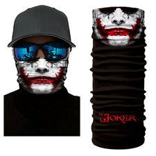 Face Shield Sun Mask Joker Bad Mood Headwear Bandana Fish Neck Gaiter Scarf Uv