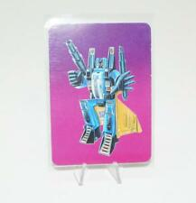 Dirge Card 99 Variant Color Transformers Action Trading Cards 1985 G1