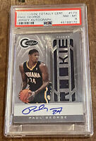 2010 Panini Totally Certified #173 Paul George Rookie RC Auto PSA 8 /599 signed