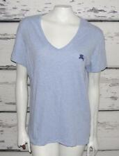 BURBERRY BRIT~AUTHENTIC~HEATHERED BLUE~BASIC TEE SHIRT~CASUAL V-NECK TANK TOP~XL