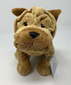 GANZ Webkinz Shar Pei Puppy Dog Plush Stuffed Animal Toy - UNUSED CODE - READ