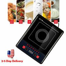Home Digital 2000W Electric Induction Cooktop Cooker Countertop Burner MachineUS