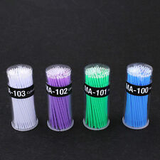 4 Bottles Dental Disposable Micro Applicators Materials Micro Brush Brushes Sale