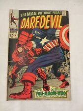 DAREDEVIL MARVEL COMICS ISSUE #43 AUGUST 1968  VERY GOOD CONDITION