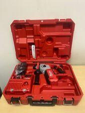 Milwaukee 2612 21 M18 Cordless 58 Sds Plus Rotary Hammer Kit
