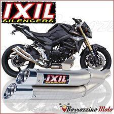 ECHAPPEMENT IXIL L3X XS8362X DUAL HYPERLOW APPROUVÉ SUZUKI GSR 750 2011-2014