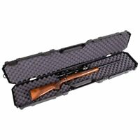 Shotgun Case Hard 46.12 inch Rifle Carry Tactical Gun Padded Storage Box