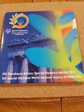 greece 2011 euro coin set 'special olympics'