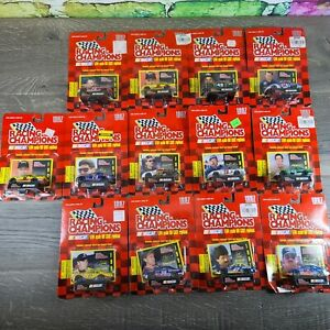 Lot Of 13 Racing Champions 1997 Nascar Diecast Replica 1/64 Scale Collectible