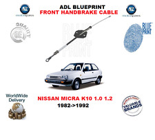 FOR NISSAN MICRA K10 1.0 1.2 1982-1992 NEW ADL FRONT HANDBRAKE CABLE 3640201B00