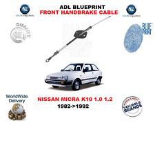 für Nissan Micra K10 1.0 1.2 1982-1992 NEU ADL vorne Handbremse Kabel 3640201b00