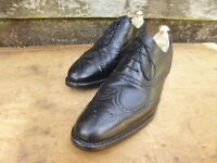 CHEANEY BROGUES – BLACK – UK 9.5 – GLADSTONE – EXCELLENT CONDITION