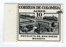 "COLOMBIA - 10 STAMP - ""UNIFICADO"" MISPLACED SURCHARGE ERROR - 1959 - Sc C325v RR"