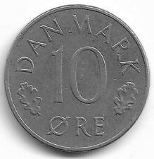 Danmark 10 Ore Coin - 1973 -  L@@K !!