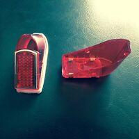 Superbe Cabochon de feu rouge + joint motobecane mobylette AV 88 89 98