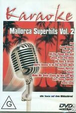 Mallorca Superhits vol. 2 Karaoke DVD NEW SEALED D59