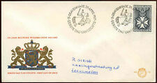 Netherlands 1965 Military William Order FDC First Day Cover #C27211