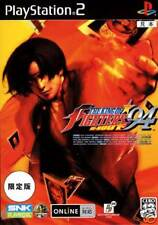 PS2 KING OF FIGHTERS 94 RE-BOUT Limited + Book Japan
