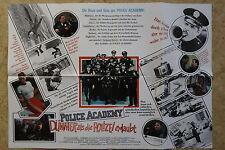 (P155) KINOPLAKAT Police Academy - Dümmer als die Polizei erlaubt (1984) Quer