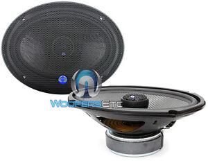 "HD-690CFX CDT AUDIO 6"" X 9"" 2-WAY 1"" SILK TWEETERS CARBON FIBER WOOFER PAIR NEW"