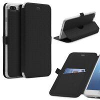 Apple iPhone 7 Plus Klapp Schutz Hülle Sichtfenster Kartenfach Standfunktion