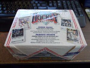 1991-92 Upper Deck French Edition Jumbo Pack Hockey Box Sealed
