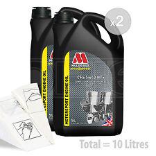 Car Engine Oil Service Kit / Pack 10 LITRES Millers NANODRIVE CFS 5w-40 NT 10L
