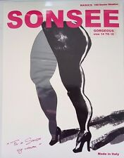 Plus Size Sonsee Stockings/Pantyhose 100 Denier Size 14 to 16 RRP$34.95