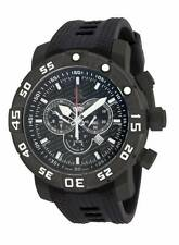 New Mens Invicta 14284 Sea Base Swiss Chronograph Titanium Case Strap Watch