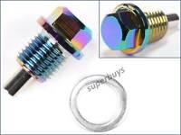 Rainbow M14 x 1.5mm Magnetic Sump Drain Plug Oil Screw Car Automotive Universal